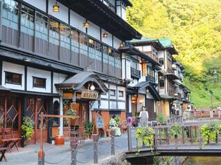 銀山温泉の写真・画像素材[1536467]