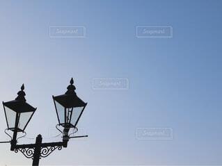 銀山温泉ガス灯の写真・画像素材[1536719]