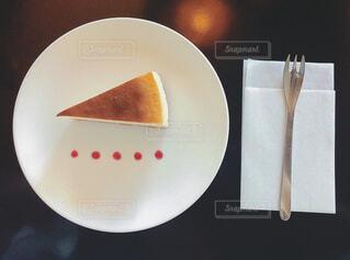温泉チーズケーキの写真・画像素材[1536729]