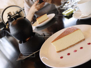 温泉チーズケーキの写真・画像素材[1536735]