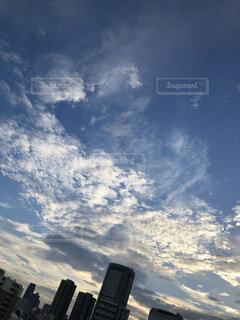 都市の空色の写真・画像素材[1533770]