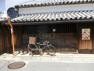 醤油発祥の地、湯浅の街並みの写真・画像素材[1533059]