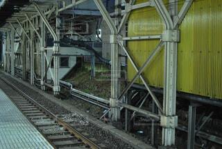 鋼のトラックの列車の写真・画像素材[1664657]