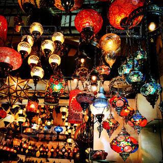 ランプの写真・画像素材[51061]