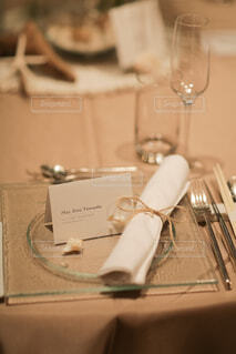 結婚式ゲストテーブルの写真・画像素材[1547982]
