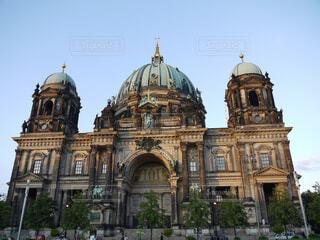 ベルリン大聖堂の前の写真・画像素材[1539375]