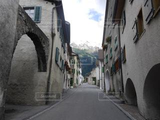 スイスの街並みの写真・画像素材[1541592]