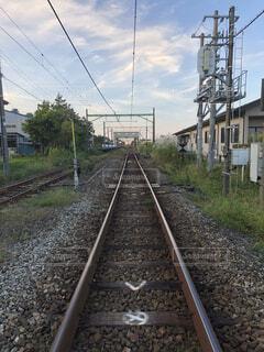 線路の写真・画像素材[1538738]