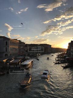 ベネチアの夕焼けの写真・画像素材[1539967]