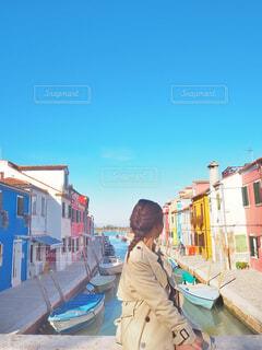 女の子の憧れブラーノ島の写真・画像素材[1541961]