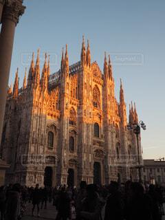 ミラノ ドゥオーモの写真・画像素材[1542142]