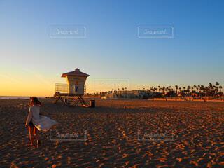 カリフォルニアのサンセットの写真・画像素材[1542201]