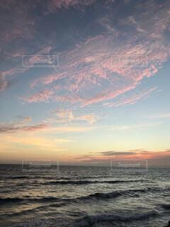 黄昏サンセットの写真・画像素材[1542452]