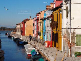 イタリア ブラーノ島の写真・画像素材[1549516]