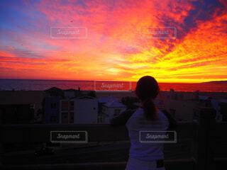 Best sunset ever🔥の写真・画像素材[1588541]