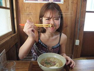 沖縄そば大好き!の写真・画像素材[1591590]