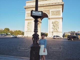 凱旋門の写真・画像素材[1606883]