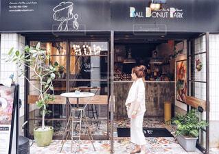 沖縄カフェ巡りの写真・画像素材[1606898]