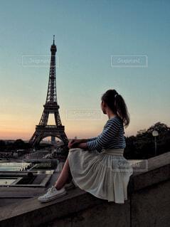 パリジェンヌに憧れての写真・画像素材[1658389]