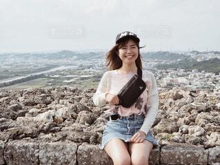 城跡巡りの写真・画像素材[1996041]