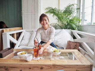 沖縄カフェの写真・画像素材[2054648]