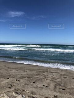 青い空青い海の写真・画像素材[1539092]