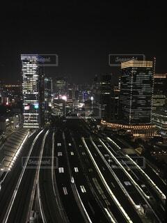 夜の都市東京駅の写真・画像素材[2391952]