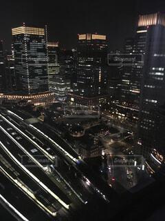 夜景東京駅・・の写真・画像素材[2391953]