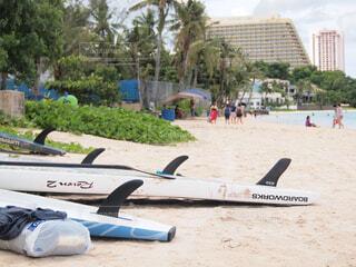 ビーチに止めて飛行機の写真・画像素材[1544146]
