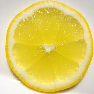 レモンのスライスの写真・画像素材[1010457]