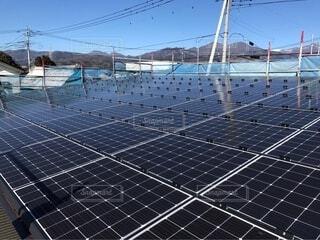 太陽光発電の写真・画像素材[2652297]