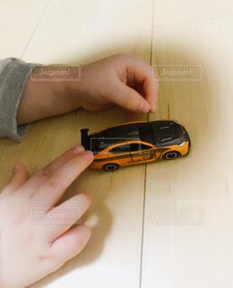 息子と車の写真・画像素材[1539058]