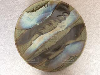 益子焼大皿の写真・画像素材[1574397]