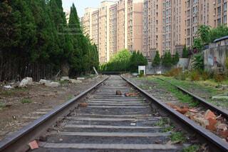 中国で撮った線路ですの写真・画像素材[1543809]