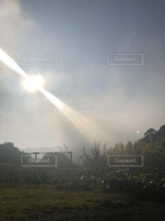 雲からおはようの写真・画像素材[1541235]