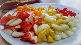 果物の盛り合わせの写真・画像素材[1642296]