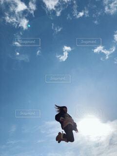 ジャーンプ!!!の写真・画像素材[1670436]