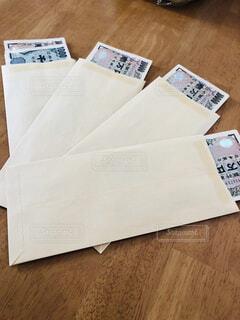封筒にわけておくの写真・画像素材[1742713]
