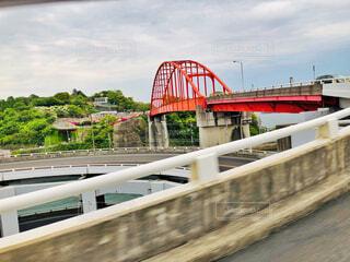 クルクルした橋の写真・画像素材[2080274]