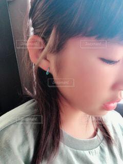 女の子の横顔の写真・画像素材[2189682]