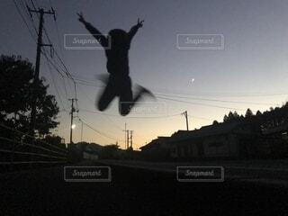 ジャーンプの写真・画像素材[2678710]