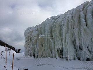 氷の壁の写真・画像素材[1540058]