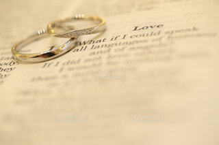 結婚指輪の写真・画像素材[1539404]