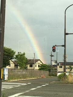 虹の街の写真・画像素材[1541967]