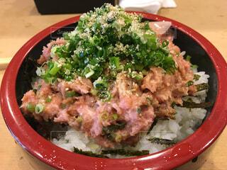 ネギトロ丼の写真・画像素材[1568546]