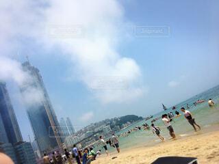 海雲台ビーチの写真・画像素材[1543718]