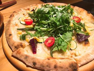 お野菜ピザの写真・画像素材[1573178]