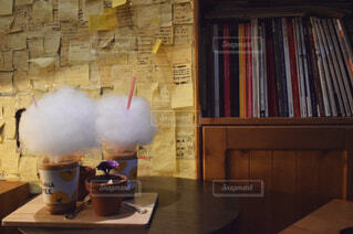 カフェ巡り♪の写真・画像素材[1556515]