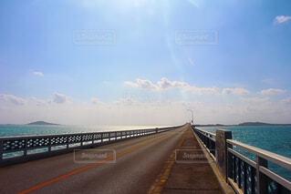 池間島の橋の写真・画像素材[2264945]