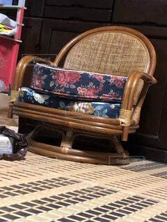 部屋の椅子の写真・画像素材[1544541]